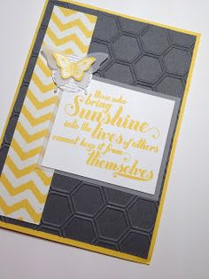 Feels Good,Papillon Potpourri, Collage Curios, Parker's Patterns,  Honeycomb Textured Impression Embossing Folder, Bitty Butterfly Punch, Elegant Butterfly Punch - Ellen Woodbridge Independent Stampin' Up! Demonstrator