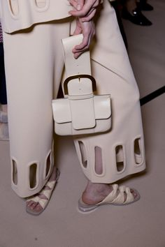 Stella McCartney Spring 2015 RTW – Backstage – Vogue Interesting bag