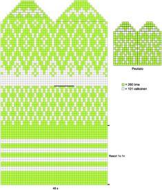 Neulo Pohjois-Pohjanmaan pirteät lapaset   ET Knitting Charts, Knitting Socks, Hand Knitting, Knitting Patterns, Knitted Mittens Pattern, Crochet Mittens, Knit Crochet, Scandinavian Pattern, Chart Design