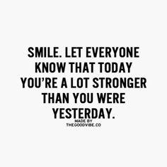 Smile : )