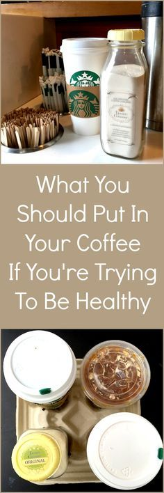 What You Should Put In Your Coffee If You're Trying To Be Healthy