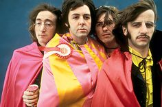 Mad Day Out photo shoot. July 28, 1968.  Kaleidoscope Eyes.... Most of the shoot was done in black and white, but it includes a number of color shots — some, like this one, that were taken in a studio.