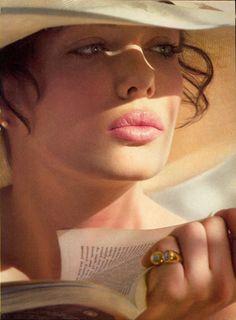 "a-state-of-bliss: ""Vogue US April 1982 - Kelly LeBrock by Hiro "" Divas, Top Models, Gabrielle Bonheur Chanel, Beautiful People, Beautiful Women, Beautiful Eyes, Steven Seagal, Vogue Us, My Favorite Image"