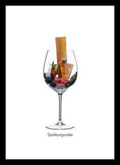 Quadro Poster Vinhos e Sabores St Laurent - Decor10