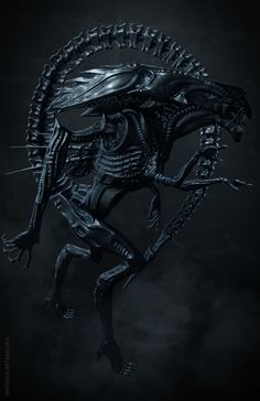 Alien Queen on Behance