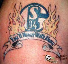 Schalke 04 Fan Tattoo ----- https://www.facebook.com/schalke.04.fanartikel ----- #Schalke #S04 #Fussball #Bundesliga #Tätowierung #BlauWeiss