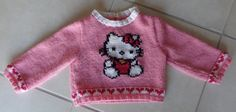 modele pull tricot hello kitty gratuit