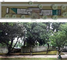 Konteks - Angan-angan Toilet Nyaman di Taman Monas Toilet Design, Public, Windows, Architecture, Thesis, Restroom Design, Architecture Illustrations, Window, Ramen