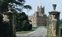 Entrance Gates to Highclere Castle aka Downton Abbey