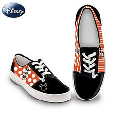 A disney lover would always find these shoes a collectible Mickey Shoes, Mickey Mouse Outfit, Minnie Mouse, Disney Outfits, Disney Fashion, Disney Clothes, Canvas Sneakers, Disney Style, Disney Mickey