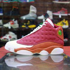 Mens Air Jordan 13 Bin 23 White Red shoes