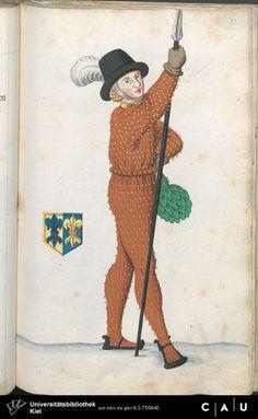 Nürnberger Schembart-Buch Erscheinungsjahr: 16XX  Cod. ms. KB 395  Folio 221
