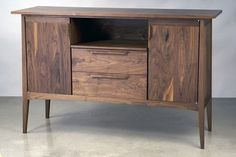 Tapered Sideboard | Eben Blaney - Fine Contemporary Furniture
