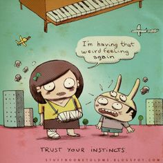 In Witty, Humorous Cartoons, Useful Everyday Advice - DesignTAXI.com