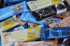 Amazing protein bars! 1 g of sugar, 22g of Protein, 10 g of dietary fibre. Great flavors :)