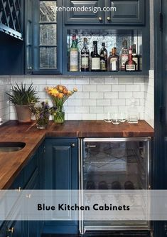 29 best blue kitchen cupboards images painted furniture rh pinterest com