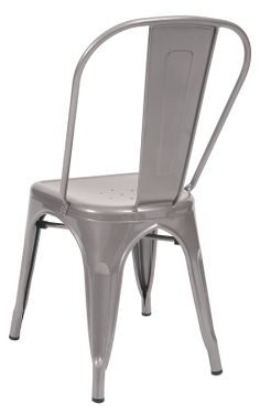 Grey Finish Tolix Metal Chair  Restaurant Furniture A1 Restaurant Furniture  sc 1 st  Pinterest & ASF-ERAT-337-DWH+Bistro+Style+Metal+Chair+in+Distressed+White+Finish ...