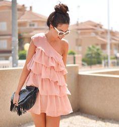 Shop this look on Kaleidoscope (dress, sunglasses, purse)  http://kalei.do/WI3v80EN0oDC8BZB