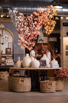 Fall at Magnolia Market: 2019 Magnolia Store, Magnolia Farms, Magnolia Market, Magnolia Homes, Fall Store Displays, Flower Shop Design, Store Interiors, Flower Shop Interiors, Booth