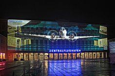 Tempelhofer Freiheit @ Berlin FESTIVAL OF LIGHTS 2012 (c) Festival of Lights / Marius Schwarz #FestivalofLights  #Berlin #Tempelhof #TempelhoferFreiheit