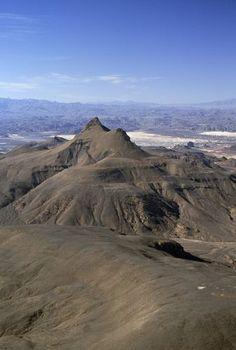 Bardai, Tibesti Mountain Range, Sahara Desert, Chad.: