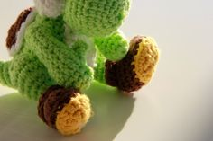 Saroh´s do-it-yourself Blog: Free Yoshi Amigurumi Crochet Pattern