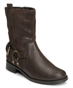 Another great find on #zulily! Brown Outrider Boot #zulilyfinds