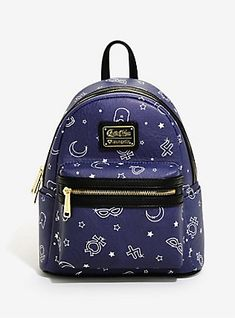Loungefly Sailor Moon Allover Print Mini Backpack - BoxLunch Exclusive,  Mini Backpack, Backpack Purse 384170e72e5