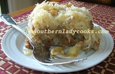 Pineapple Banana Cake with Coconut Frosting  |  The Southern Lady Cooks