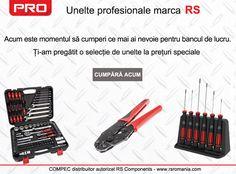 10% discount la o selectie de unelte RS PRO