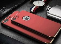 Red Luxury IPhone Case 👑  #apple #iphone #iphone6 #iphone6plus #iphone7 #iphone7plus #iphone8 #ios #luxury #modern #trending #king #iphonelovers #leather #case #phonecase #iphonecase