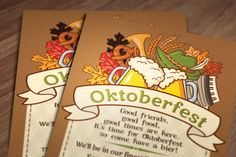Oktoberfest Invitation  Printable file by ChelsiLeeDesigns on Etsy, $12.00