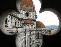 Duomo Keyhole  Basilica di Santa Maria del Fiore in by AnnaDelores