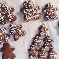 Best Dessert Recipes, Cupcake Recipes, Pie Recipes, Fun Desserts, Cookie Recipes, Gingerbread Cookies, Christmas Cookies, Pinterest Cake, Artisan