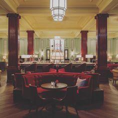Century Bar at The Gleneagles Hotel (Perthshire, Scotland).