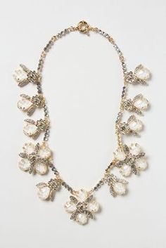 Opalescent Garland Necklace