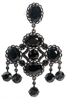 Cristais Black pra dar up nas produções. Da coleção jóias para Fabiana Milazzo