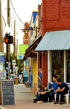 Charlotte's NoDa Historic Art District community.