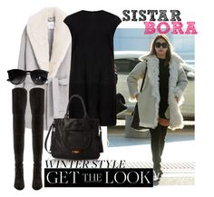 """Get the Look: Winter Edition - SISTAR Bora"" by joslynaurora on Polyvore featuring MANGO, MuuBaa, Big Buddha, Stuart Weitzman, Ray-Ban, women's clothing, women's fashion, women, female and woman"