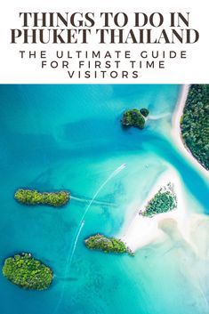 """Things to do in Phuket - The Ultimate Guide for First Time Visitors. Phuket is both a province in Thailand, which includes over 30 islands, but generally Phuket is referred to as the island of Phuket, Thailand's largest island. Once known as a hedonistic destination for international backpackers, thanks in part to the Leo DiCaprio move """"the Beach"""" Phuket now attracts all kinds of tourists, from backpackers to luxury seekers. #Thailand #Phuket"""