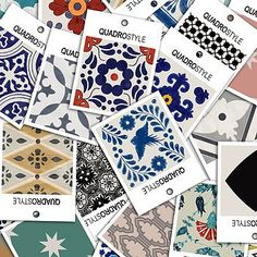 Select from designer Morrocan Tile decals, Mexican splash back tiles for the kitchen or Turkish tile sticker packs, great for decorating your home on a budget.