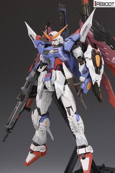GUNDAM GUY: MG 1/100 Destiny Gundam - Customized Build