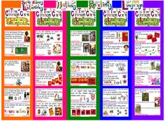 FREE!!!!  Common Core Literacy Poster Sets for Pre-K, K, 1st, 2nd & 3rd Grades!!!!   TheSecretStories.com  Teaching with the BRAIN-IN-MIND! (Katie Garner/ brain-based literacy)