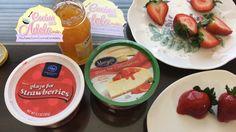 Como comprar y preparar el glaseado de fresa o frutas