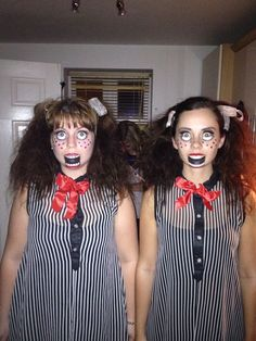 Scary doll Halloween costume
