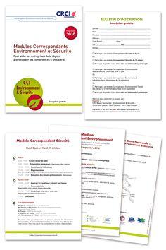 Création du livret de la CRCI et mise en page du programme.