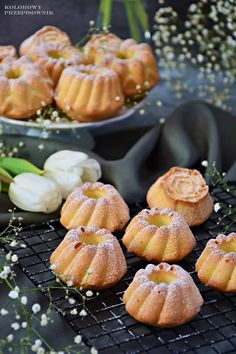 Polish Desserts, Mini Desserts, Sweet Recipes, Cake Recipes, Dessert Recipes, Breakfast Menu, Breakfast Recipes, Almond Flour Pancakes, Easter Recipes