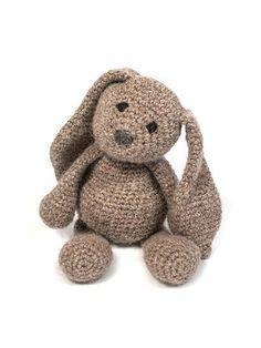 Luxury knitting kit - knitted bunny kit