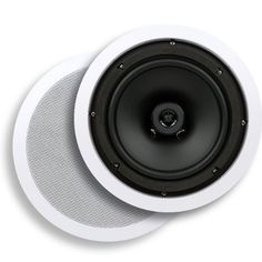 Micca Core Series C-8C 8-Inch In-Ceiling Speaker (Each, White) by Micca. $24.95. Note: This speaker is sold individually, not in pairs. Please buy two for a pair, or as many as needed.  The Micca Core Series C-8C in-ceiling speakers bring amazing sound at an amazing low price to any room without taking up valuable space. Easy to install with only basic tools, Micca Core Series speakers blend unobtrusively into any decor and become virtually invisible when painted to mat...