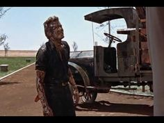 Giant (1956) - James Dean Strikes Oil. James Dean is  so good, and Liz Taylor is so beautiful.